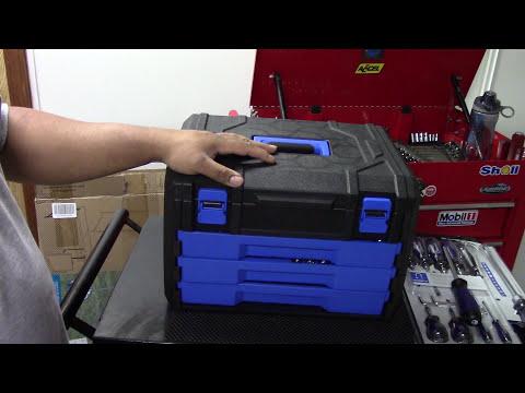 Tool review of the Kobalt 227 piece tool set!