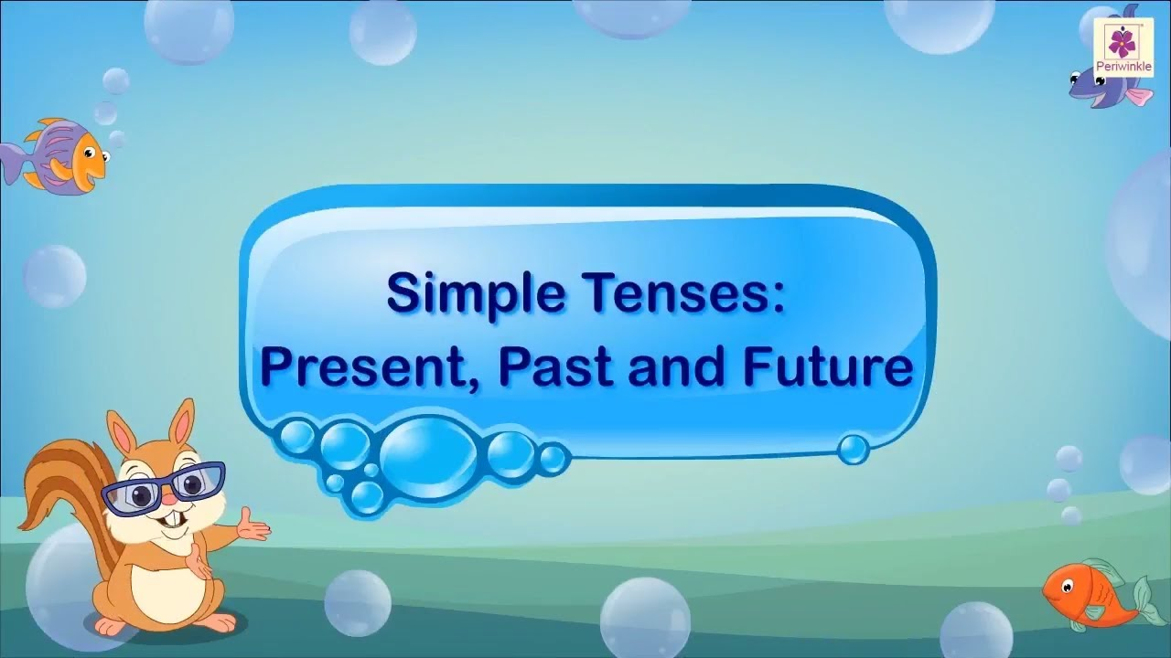 hight resolution of Simple Tenses - Past