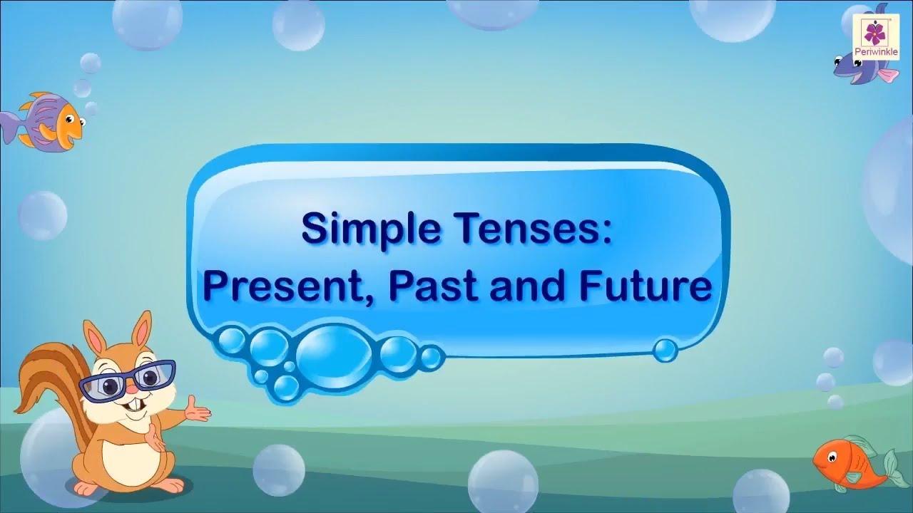 Simple Tenses - Past [ 720 x 1280 Pixel ]