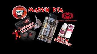 REVUE MARVN RTA+ACCESSOIRES COIL MASTER & SHOREDITCH BOSS PUD'N