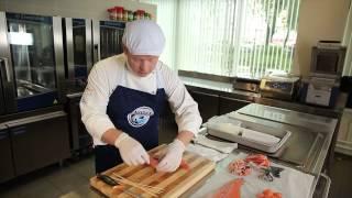 Мастер-класс по разделке и приготовлению норвежской семги