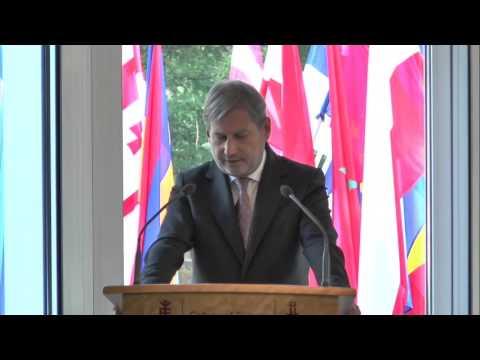 Commissiner Johannes Hahn on European Neighbourhood Policy perspectives