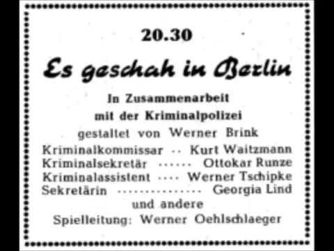Es geschah in Berlin   Haschisch
