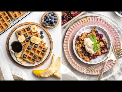 Sweet Vegan Brunch Ideas (Healthy + Easy)
