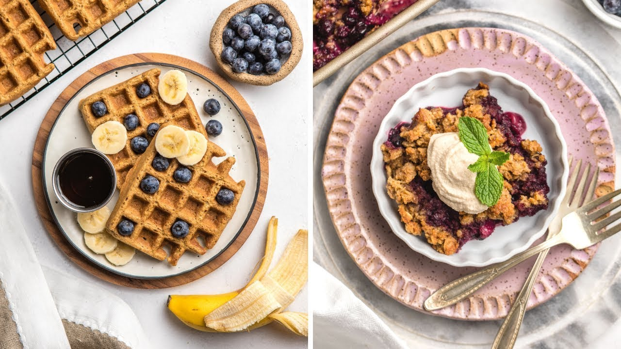 Sweet Vegan Brunch Ideas (Healthy + Easy)