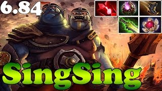 Dota 2 - Patch 6.84 - SingSing Ogre Magi With Octarine Core and Lotus Orb -  FUCKING OP Plays Ranked