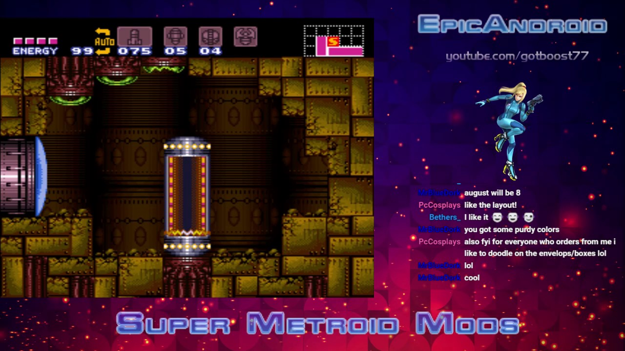 Super Metroid MOD Madness - Charge Beam Mod by personitis