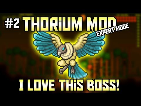 The Grand Thunder Bird! Thorium Mod Expert Mode Bard Let's Play ||Episode 2||