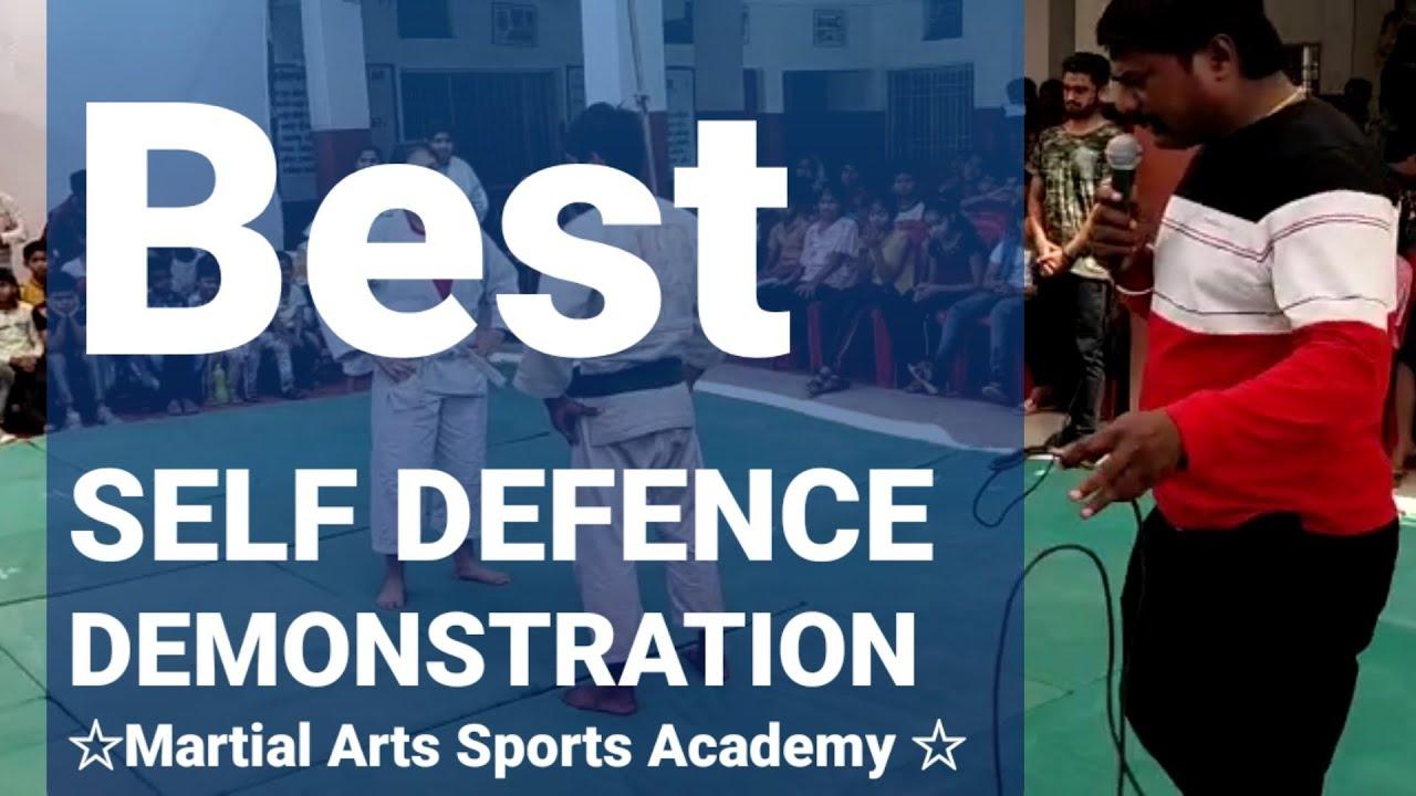Best SELF-DEFENCE Demo ||Martial Arts Sports Academy, Bhatapara|| Zila Judo Sangh Club Opening'2020