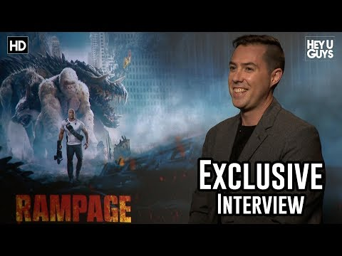 Director Brad Peyton - Rampage Exclusive Interview Mp3