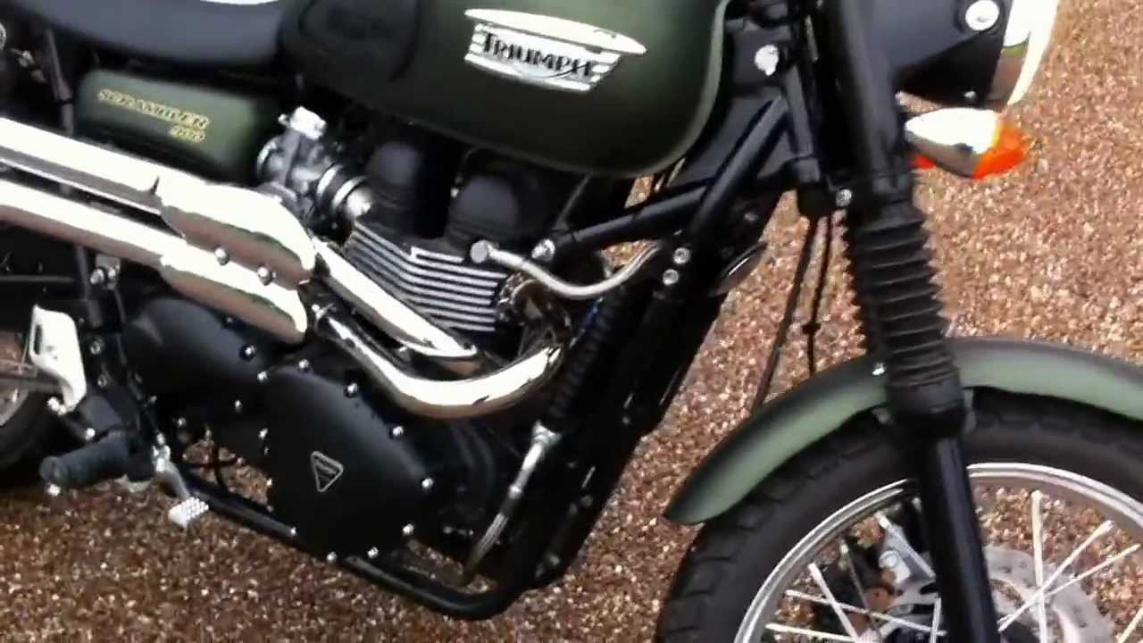 Classic British Triumph 900 Scrambler Motorcycle For Sale Via Ebay With Mikeedge7 Youtube