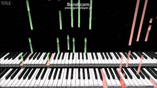 "I play the piano with my friend. This music is ""Endroll"" by LesFrèr..."