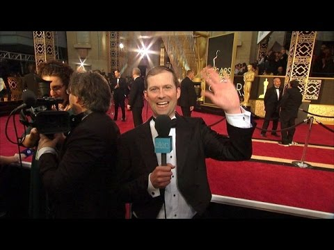Andy on the Oscar Red Carpet