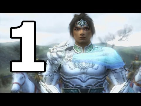 Dynasty Warriors 6 Zhao Yun Walkthrough Part 1 - No Commentary Playthrough (PS3)