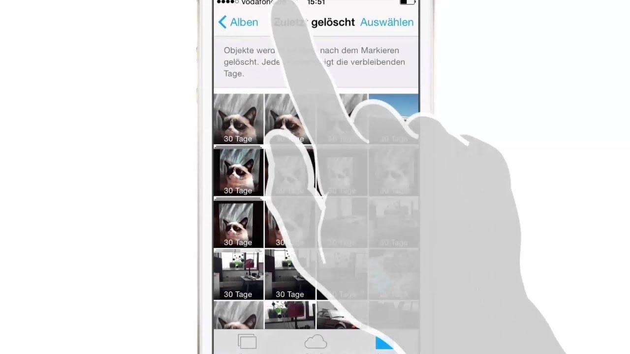 Iphone Gelöschte Fotos