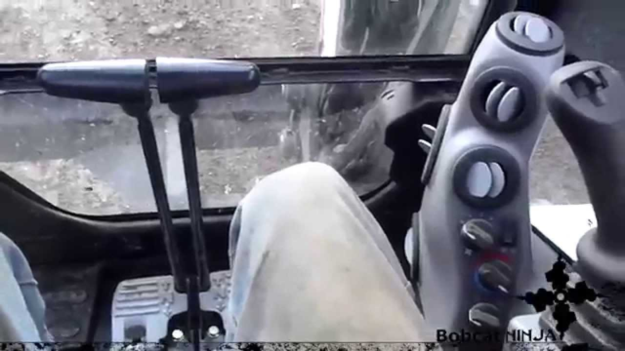 MiniExcavator Controls Run Through  YouTube