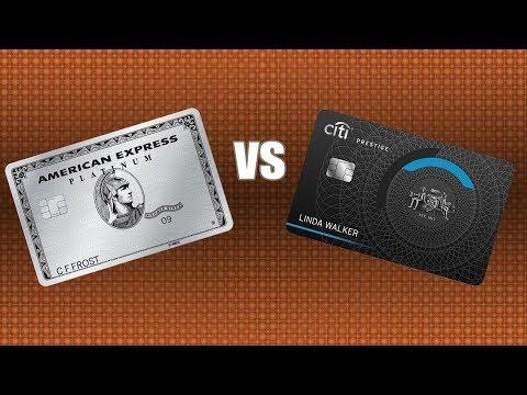 American Express Platinum VS Citi Prestige