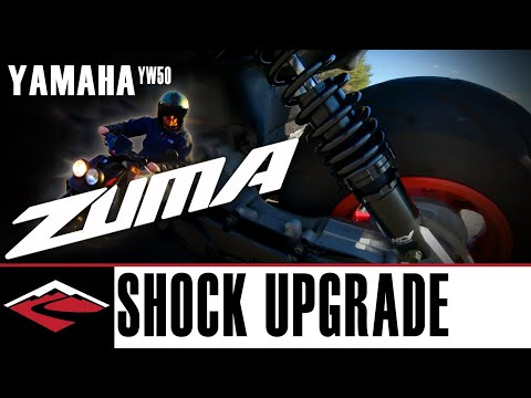 Yamaha Zuma NCY Suspension Upgrade And Yes, Scooters Are Awesome
