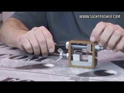 Universal Handgun Sight Tool | Removing Sights