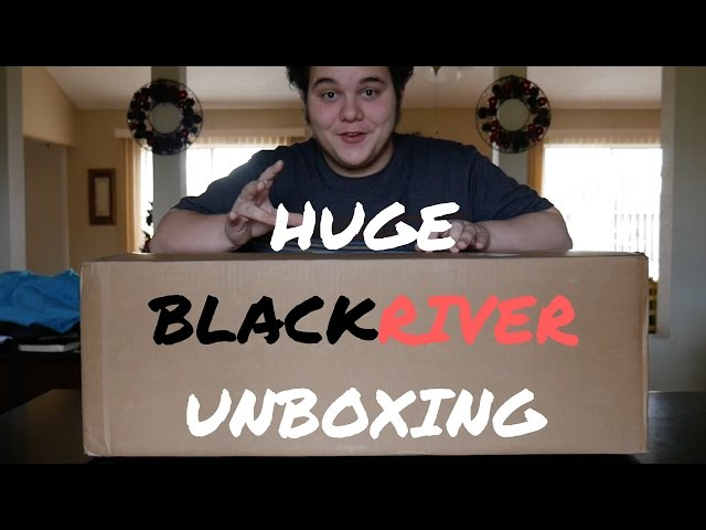 HUGE BLACKRIVER RAMPS CHRISTMAS UNBOXING!!!