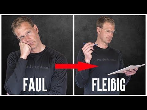 3 Tipps wie du SOFORT aufhörst FAUL zu sein (Prokrastination überwinden)