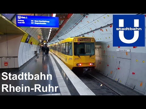 Stadtbahn Rhein-Ruhr VRR - Light rail in Germany