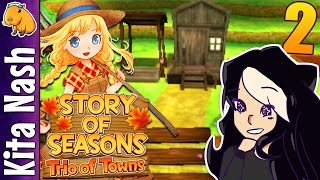 Story of Seasons Trio of Towns Gameplay PART 2: A FARM ALL MY OWN |Let