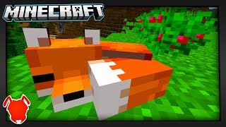 MINECRAFT. FOXES. YES!