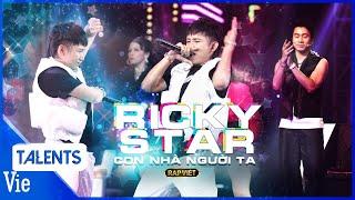 RICKY STAR bắt trend đi đường quyền, quẩy banh nóc với bản rap  CON NHÀ NGƯỜI TA  vòng 3 Rap Việt