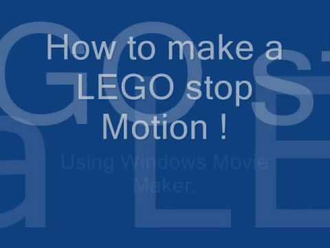 How to Make a LEGO Stop Motion in Windows Movie Maker - YouTube