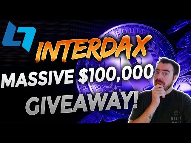 InterDax - The Next Generation CryptoCurrency Trading Platform + $100K in BTC Giveaway