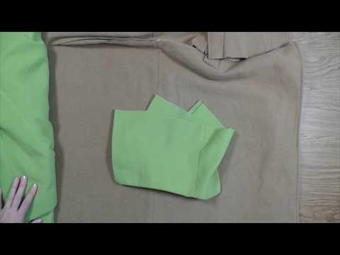 Шьем юбку драповую комбинированную для комплекта