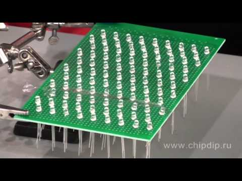 Do-it-yourself LED matrix