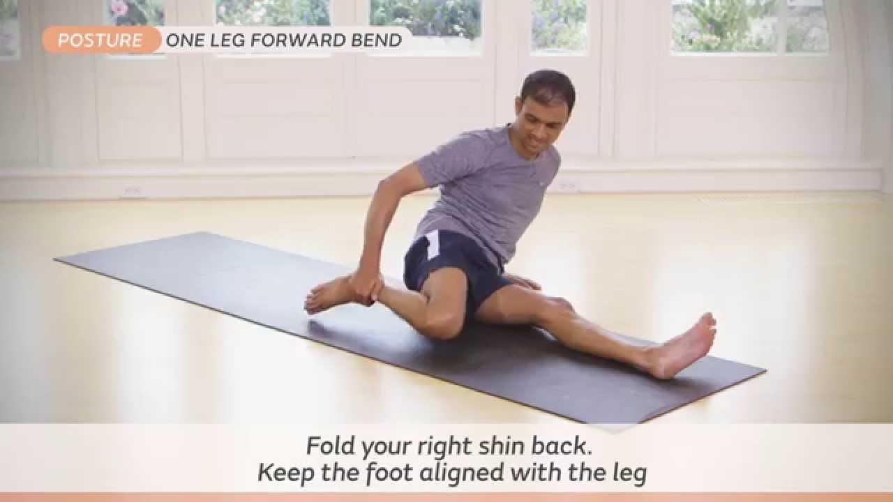 how to do ardha baddha padma paschimottanasana youtube