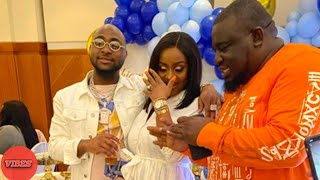 Davido Chioma Son39s Naming Ceremony In London