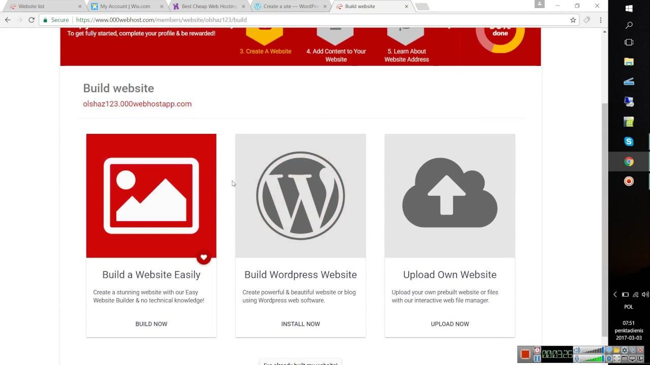 how to make a website hosting how to make a website hosting