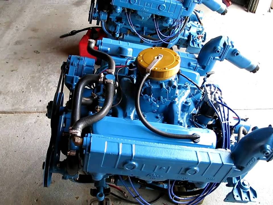 Twin Chrysler 318 Marine Engines @ Neptune Marine  YouTube