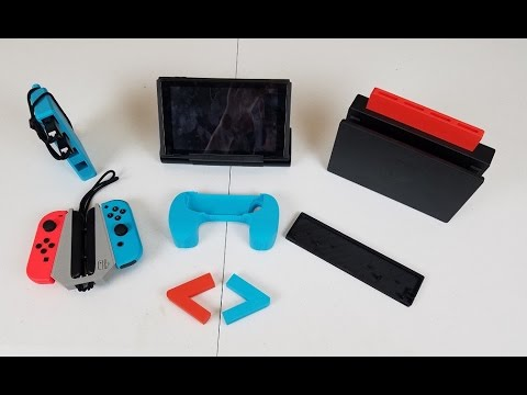 3D Printed Nintendo Switch accessories