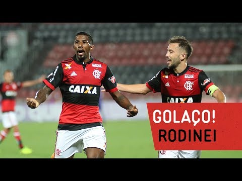 Golaço de Rodinei! Flamengo 1x1 Avaí | Campeonato Brasileiro 2017