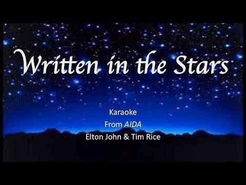 """Written in the Stars"" Karaoke - TIG Music (""AIDA"" Cover)"