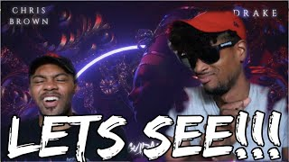 Chris Brown - No Guidance (Audio) ft. Drake REACTION | KEVINKEV 🚶🏽