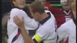 Bàn thắng thần tốc của Michael Owen vào lưới Argentina tại World Cup 98