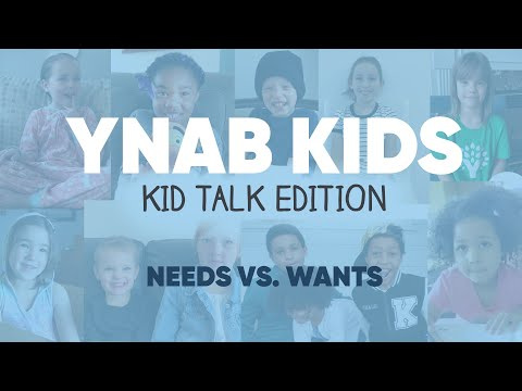 Speaking to Kids About Wants versus. Needs