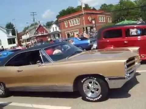 Exposans   des  voitures antiques de Richmond 2015