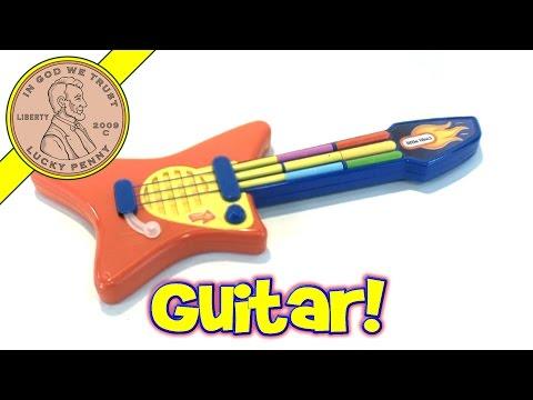 Little Tikes Pop Tunes Big Rocker Guitar Electronic Musical Toy Kids Toy Reviews
