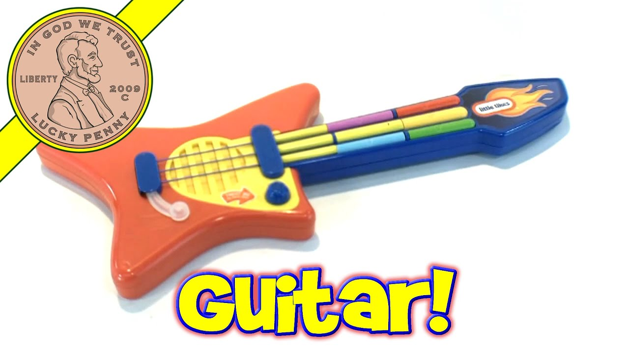 Little Tikes Pop Tunes Big Rocker Guitar Electronic Musical Toy