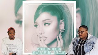 R&BIANA IS HERE!! POSITIONS (ALBUM) - ARIANA GRANDE | REACTION