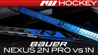 Bauer Nexus 2N Pro vs. 1N Sticks // Tech & Spec Comparison