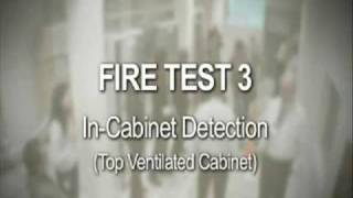 Vesda Server Room Fire Test