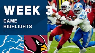 Lions vs. Cardinals Week 3 Highlights | NFL 2020